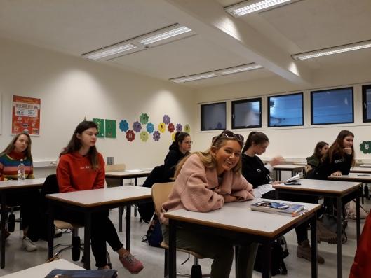 SPENNENDE OG LÆRERIKT: Besøk i ulike klasser og fag var spennende og lærerikt.
