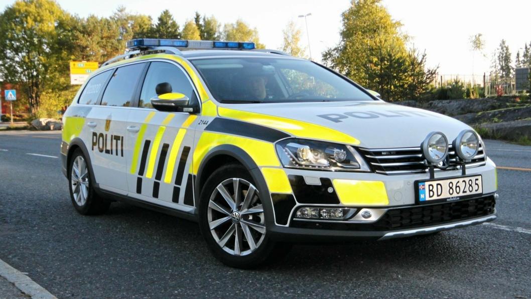 INNBRUDD: Politiet har i dag fått en melding om innbrudd i containere på en byggeplass i Oppegård.