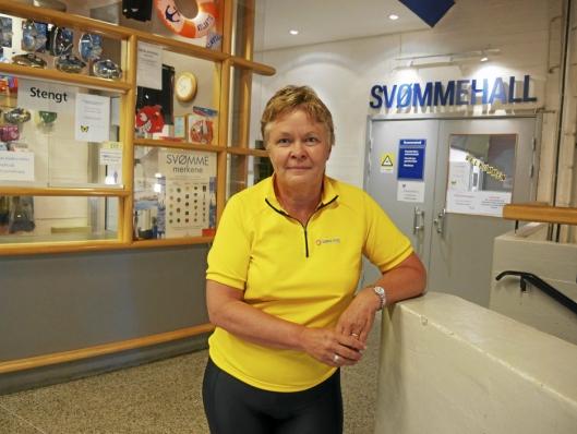 ØNSKER 50-METERSBASSENG: Nina K. Vøllestad, som er leder for Nordre Follo idrettsråd, taler på vegne av idretten i Oppegård og Ski.