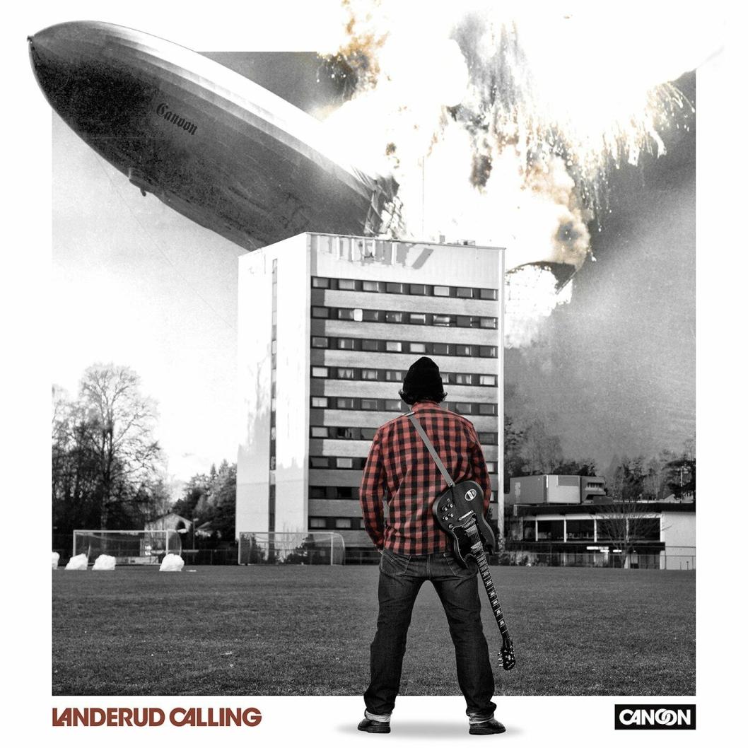 FORRIGE UTGIVELSE: Canoon er opptatt av ordspill. «Landerud Calling» er inspirert av «London Calling» (The Clash).