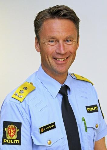 Politimester Jon Steven Hasseldal i Øst politidistrikt.