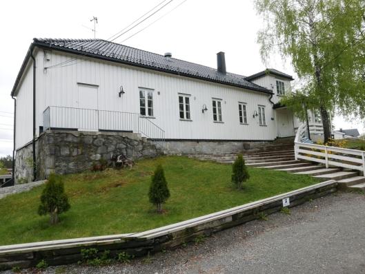 FLOTT PRESENTASJON: På Fjelltun i Myrvollveien 5 kan du også oppleve en historisk presentasjon i form av bilder og tilhørende tekster om Myrvolls utvikling i perioden 1919-2019.