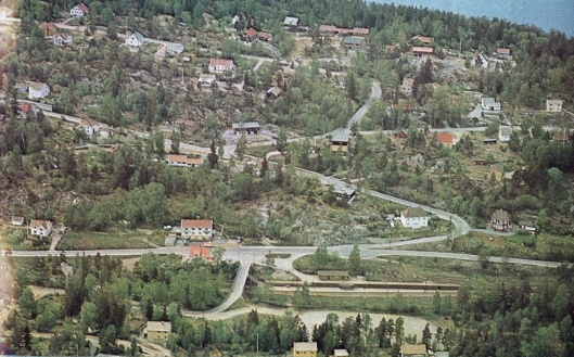 MYRVOLL 1974: I 1974 kunne man allerede se en stor utvikling av Myrvoll som sted.