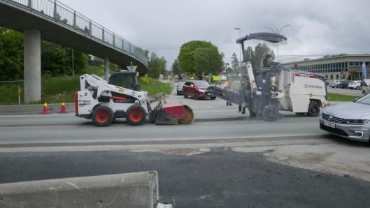 3,6 KILOMETER LANG: Det foregår nå arbeid med reservevannledningen som skal etableres mellom Oslo og Oppegård.