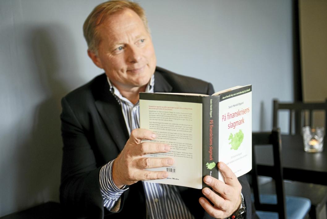 FORFATTER: Svein Harald Øygard, tidligere sentralbanksjef på Island, har skrevet bok om finanskrisen.