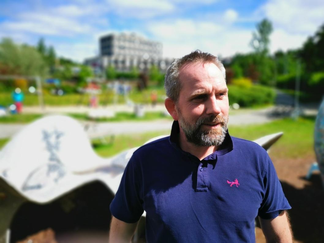 FOLKEFEST: Tross sykdom og rehabiliitering: Lørdag er Paal Sjøvall klar for å være med på folkefesten for å bevare Generajonsparken.