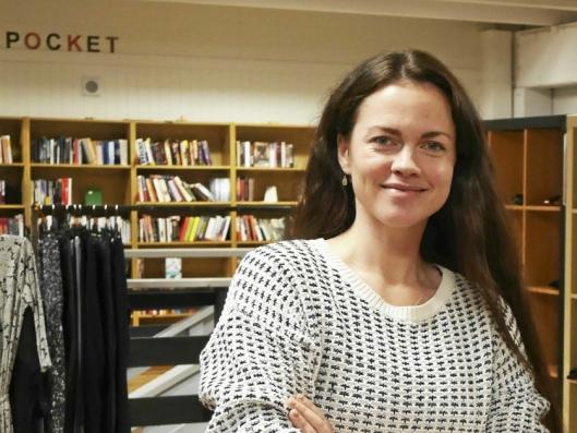 GJENBRUKSVILJE: – Det er masse gjenbruksvilje i Oppegård, sier daglig leder Nora Isachsen i OMA.