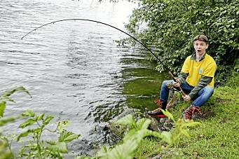 – Prøv fiskelykken i kveld!