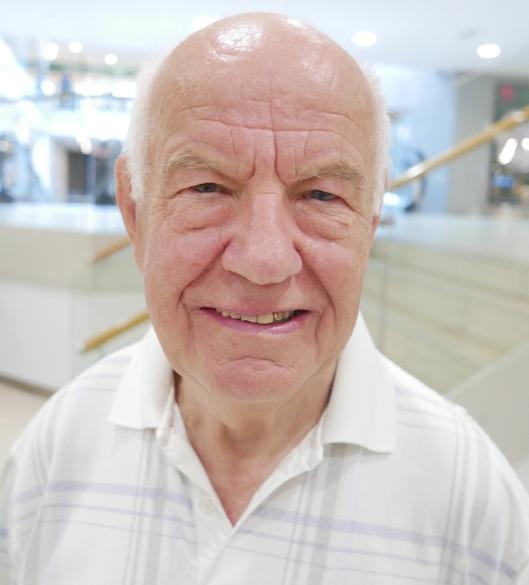 Erling Bakkland (77), Kolbotn: