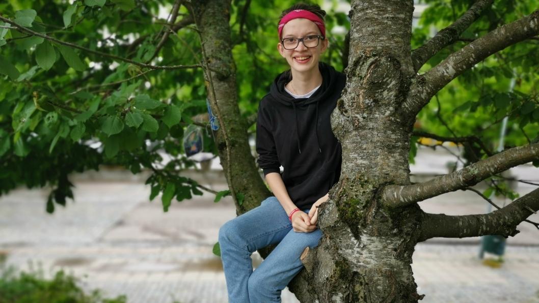 UNG OG AMBISIØS: Charlotte Rødland Kristiansen er innstilt som nummer tre på SVs liste til kommunevalget.