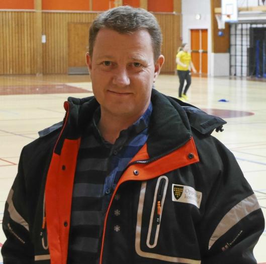 FORKLARER SITUASJONEN: Hogne H. Haug, leder for drift og vedlikehold i Eiendom Oppegård.