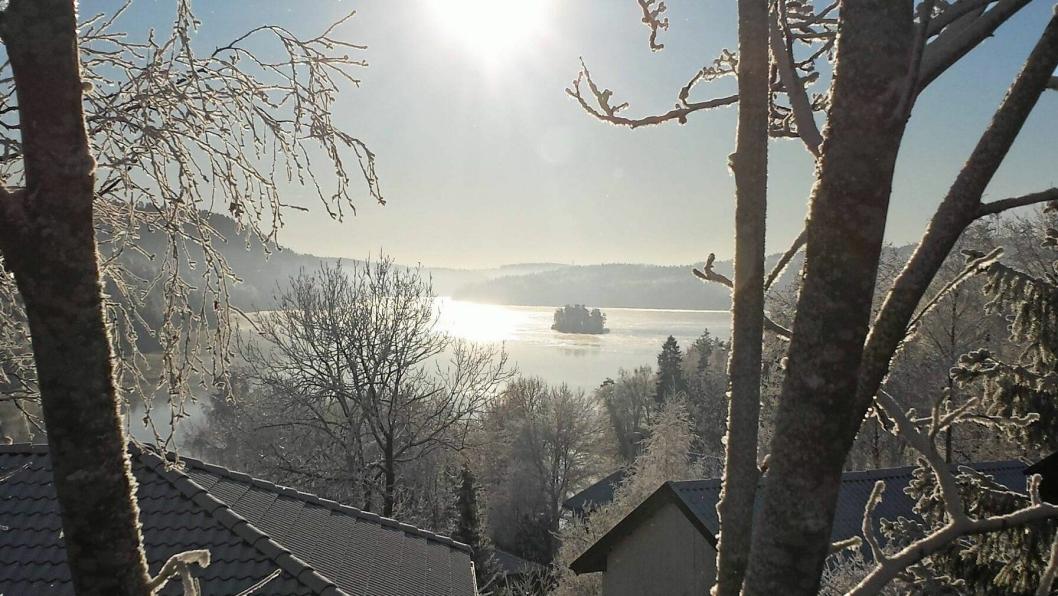 FAVORITT: Dette er ett av stedene panelet trekker frem på sin favorittliste over steder å bo i Oppegård.