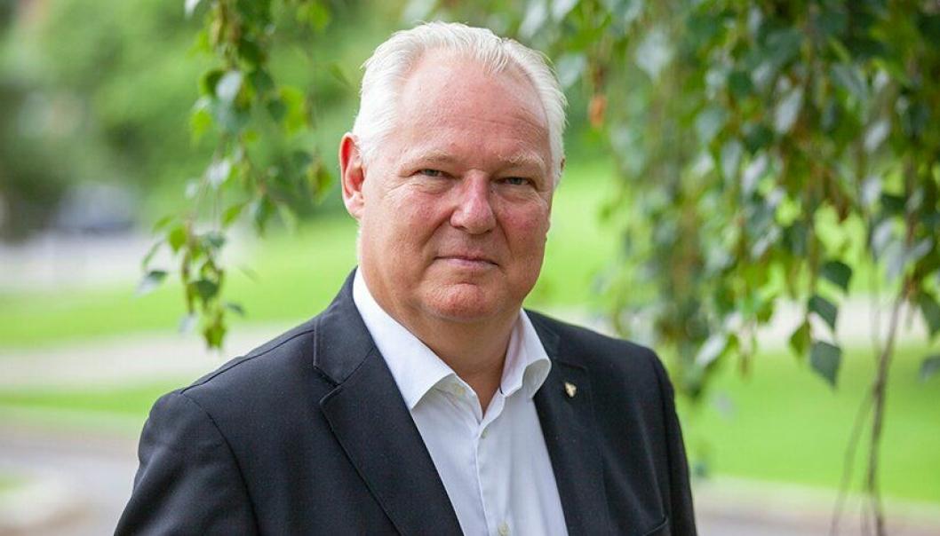 SLUTTER I OPPEGÅRD: Lars Henrik Bøhler har vært rådmann i Oppegård kommune siden 2016 og var kommunalsjef før det. Han starter i sin nye jobb 9. september.