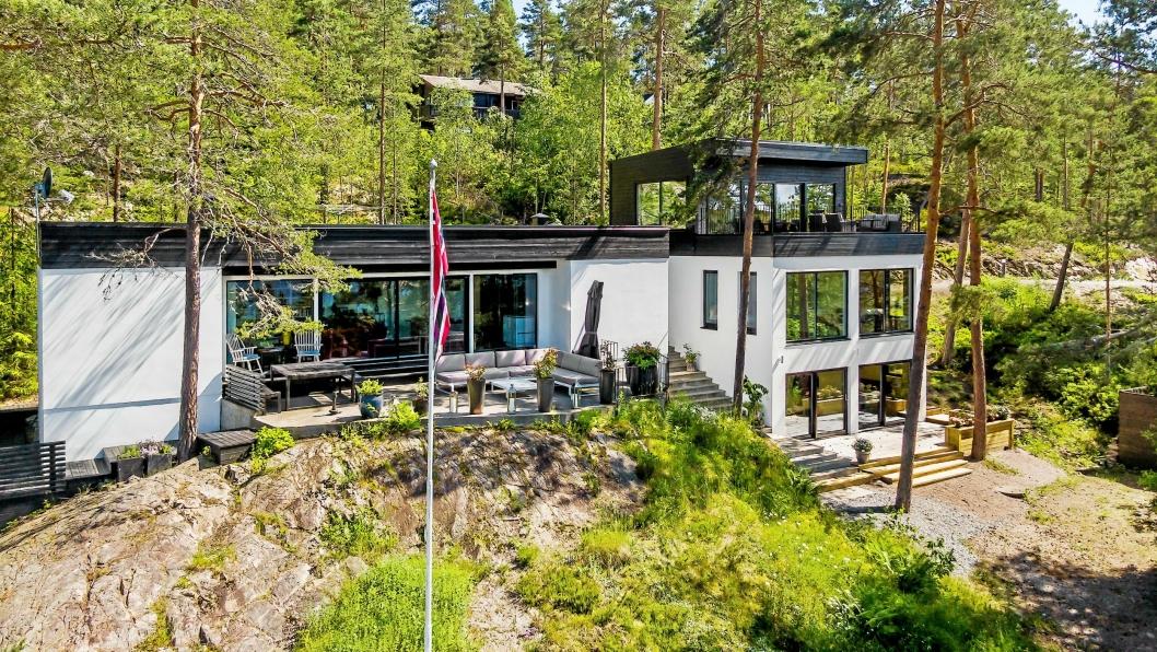 FASJONABELT: Ole Paus kjøpte eiendommen i Roald Amundsens vei i november 2016. Nå selger han.