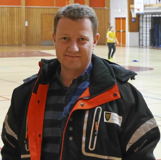 FORKLARER: Driftsleder Hogne H. Haug i Eiendom Oppegård.