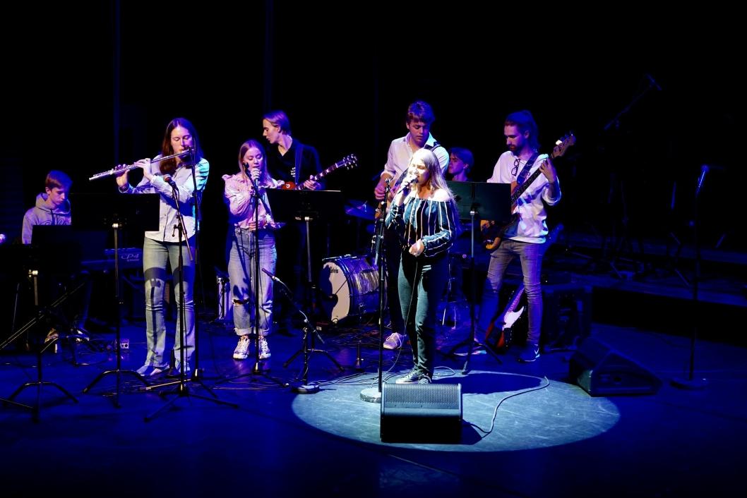 KONSERT PÅ KOLBOTN: Fra fredagskonserten I SAMSPILL på Kolben, sal to.