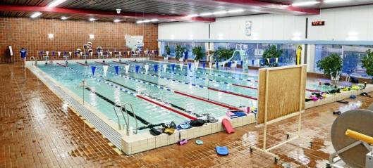 Svømmehallen stengt på ubestemt tid