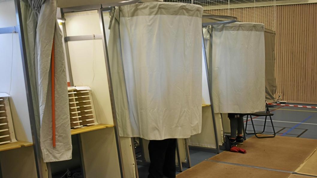 HUSK Å BRUKE DIN STEMMERETT: Du kan stemme søndag 8. september (kl. 14:00–20:00) eller mandag 9. september (kl. 09:00–21:00).