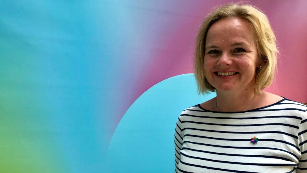 LOKAL REPRESENTANT: Distriktssjef i Kreftforeningen, Christine Lager Nesje, er bosatt på Kolbotn.