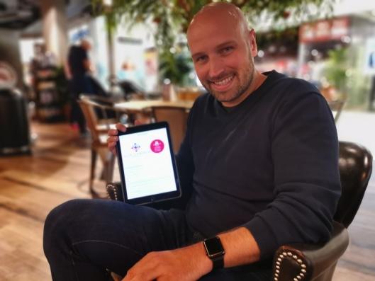 """PRIMUS MOTOR: Magne Nordby Riise er hjernen bak den veldedige organisasjonen """"Alle Sammen""""."""