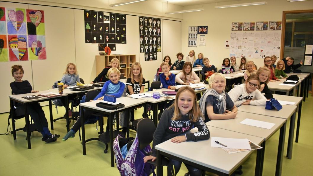 SKOLESAKEN I FOKUS: Bildet er kun brukt som illustrasjonsbilde til saken. Det ble tatt på Sofiemyr skole i 2017.