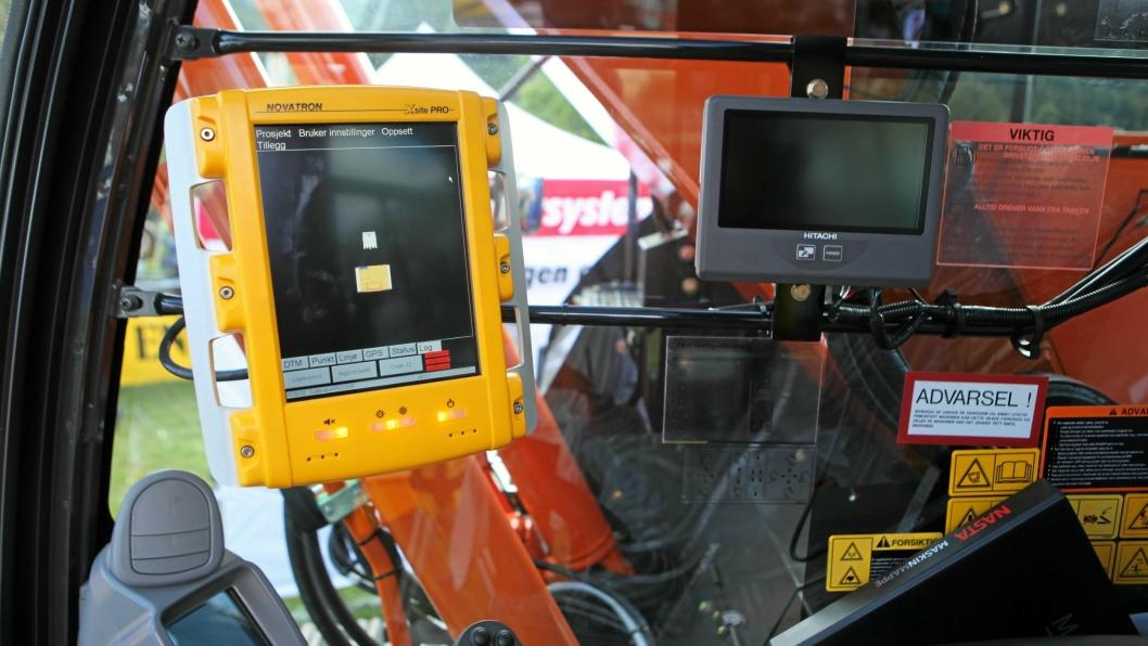GPS-TYVERIER: Politiet advarer mot GPS-tyverier fra spesielt anleggs- og jordbruksmaskiner. Det er registrert mange forhold på Sør- og Østlandet.