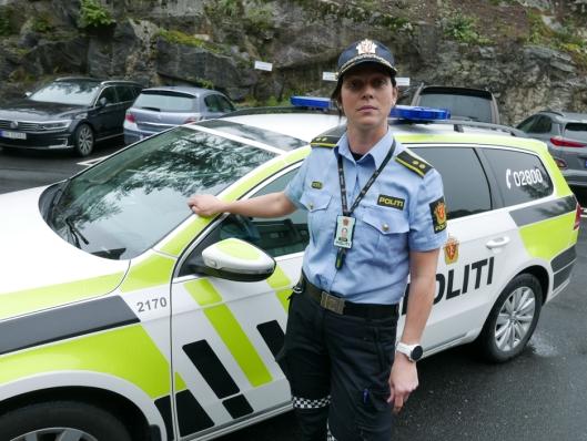 ADVARER: Solveig Kjeserud, politikontakt for Oppegård og Ski.