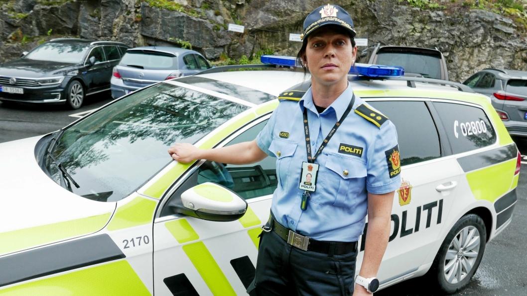 BEKYMRET FOR RUS BLANT UNGE: Politikontakten for Oppegård og Ski, Solveig Kjeserud.