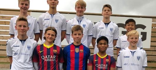 Kolbotn-spillere (nesten) klare for Barcelona