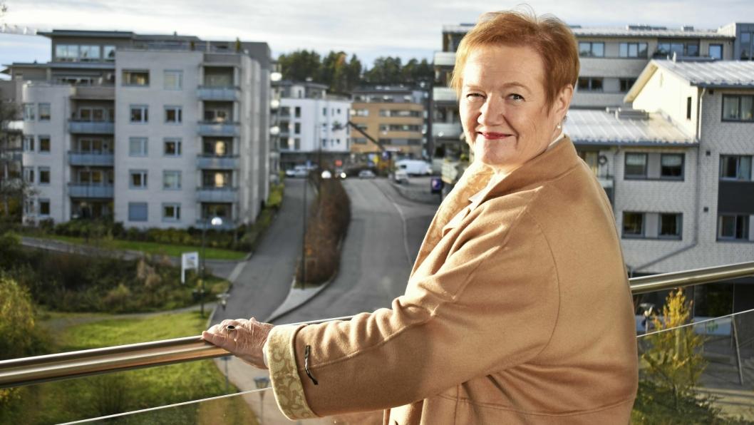 14 ÅR SOM ORDFØRER I OPPEGÅRD: Sylvi Graham (H) var ordfører i Oppegård i 1995-1999, 1999-2003, 2003-2007 og 2007-2009.