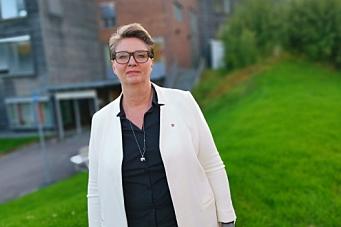 Her kommer Hanne Opdan til det avgjørende møtet
