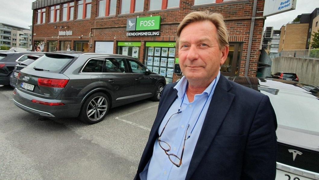 HAR KLAGET KOMMUNEN INN: Daglig leder i Foss & Co Eiendomsmegling AS, Anders Foss (56), er fornøyd med KOFAs avgjørelse.