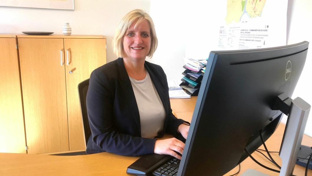 KONSTITUERT RÅDMANN: Monica Lysebo overtok som konstituert rådmann i Oppegård kommune mandag forrige uke.