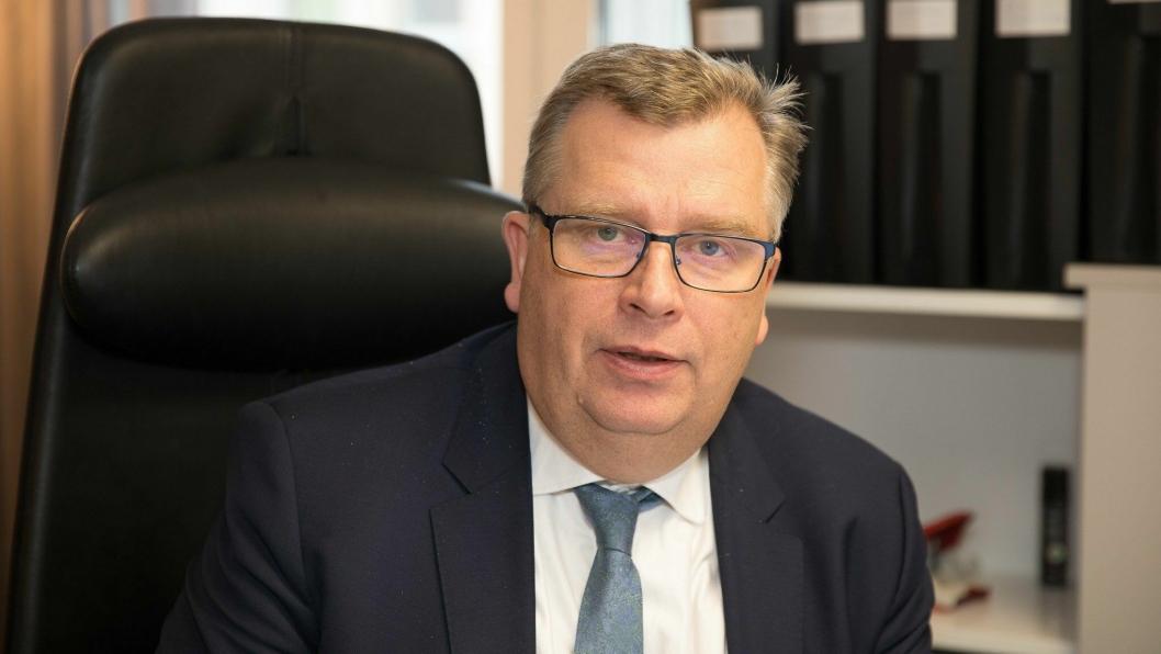 JOBBER MED SAKEN: Statssekretær Atle Hamar (V) i Klima- og miljødepartementet sier forurensningsmyndighetene jobber med saken.