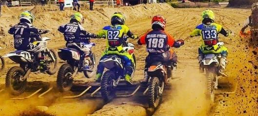 Vant Østlandscup i motocross