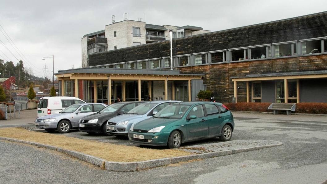 FORSVANT HERFRA: 88-åringen forsvant fra Greverud sykehjem onsdag formiddag.