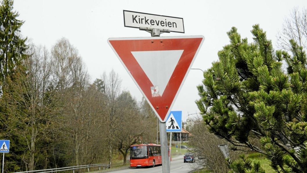 BLIR HASLEBAKKEN: Kirkeveien på Kolbotn var først innstilt på å skifte navn til Kirkebakken. Nå er det endre til Haslebakken.