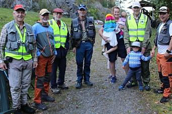 Suksess med Åpent fiske i Gjersjøelva
