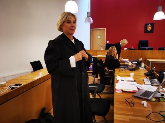 MILD STRAFF: Bistandsadvokat Monica Lindbeck synes påstanden fra aktoratet var for mild.