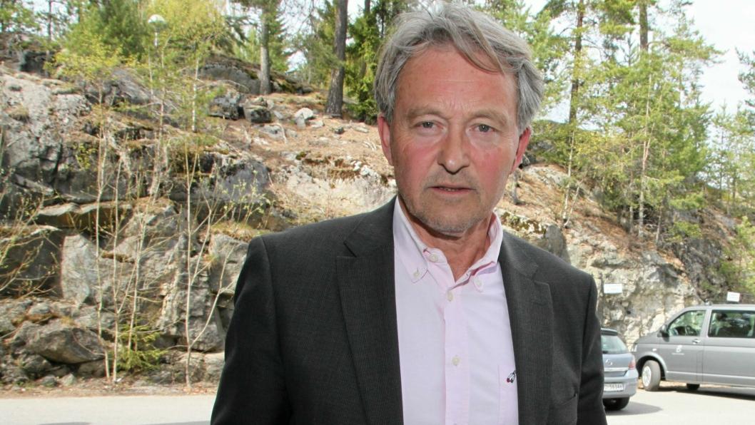 AVVENTER PÅLEGG: Terje Rønning i Åsland Næringspark AS representerer en av de totalt to grunneierne på stedet. – Foreløpig har vi kun fått varsel om pålegg om å rydde opp i forurensningssituasjonen på eiendommen. Vi avventer selve pålegget, sier han.
