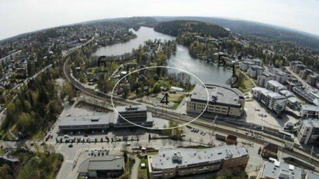 BEHOV FOR REVIDERING: Gunnar Sveen fra Kolbotn mener områderegulerinsplanen for Kolbotn sentrum, som ble vedtatt for to år siden, bør revideres.