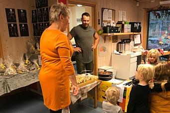 Vellykket solidaritetsaksjon i Sofiemyråsen barnehage