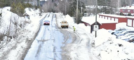 Oppegård kommune brukte 676 tonn salt på kommunale veier på fem år