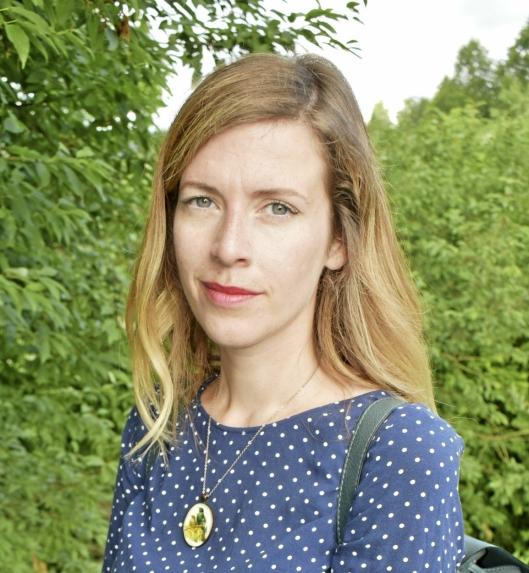 BEKYMRET FOR ØKT SALTBRUK: Line Lund Norbakk (36) fra Greverud er naturforvalter og styremedlem i Naturvernforbundet i Nordre Follo.