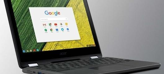 Kommunen samler inn Chromebooks på skolene