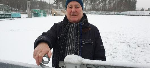 Stengte alle fotballbaner for vinteren