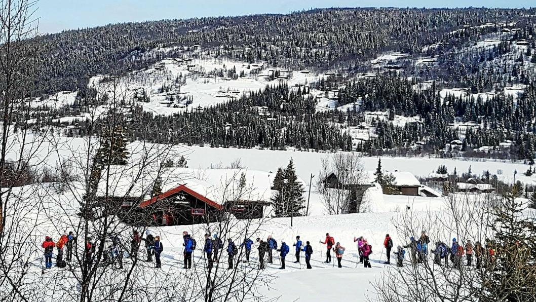 LEIRSKOLE: Kolbotn skole har tradisjon å dra på Brennabu leirskole i Valdres.