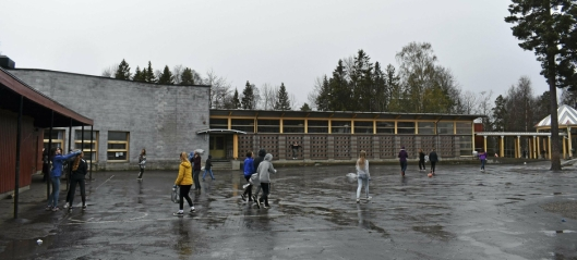 Ny taklekkasje på Sofiemyr skole