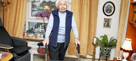 Liv (95) ble påkjørt av rullestol