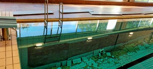 Svømmehallen åpner tidligst i midten av mars